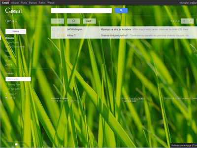 how to change theme in gmail new look