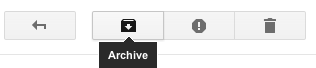 Archive messages to tidy up your inbox without deleting anything.