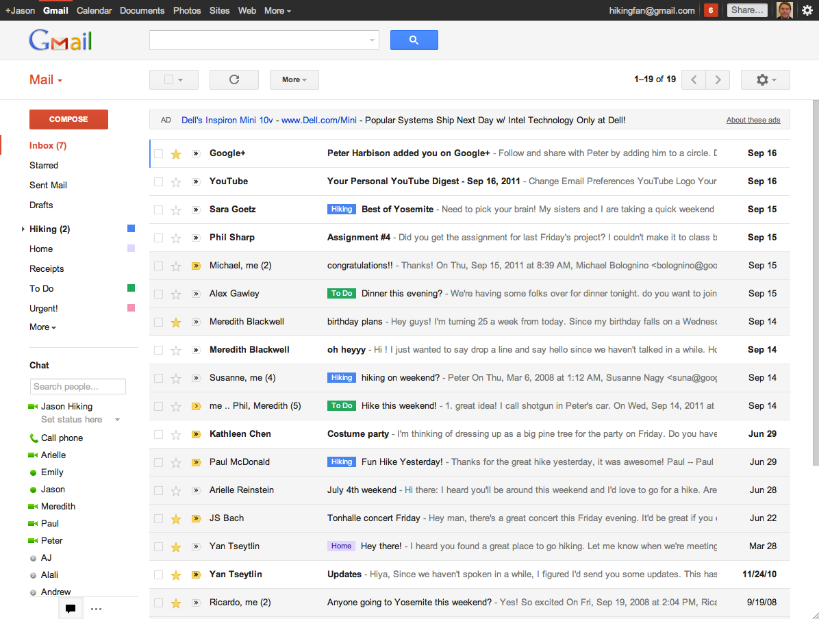 About Gmail Google